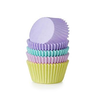 48 Pastel Cupcake Cases