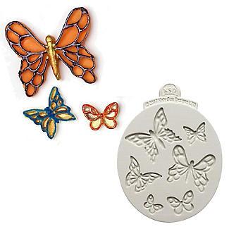 Katy Sue Designs Mini Butterflies Flexible Silicone Mould