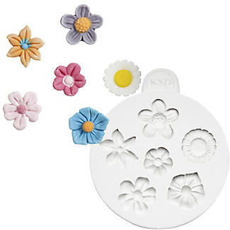 Katy Sue Designs Flowers Flexible Silicone Mould