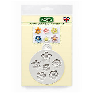Katy Sue Designs Flowers Flexible Silicone Mould alt image 3
