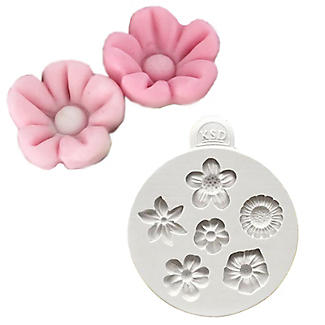 Katy Sue Designs Flowers Flexible Silicone Mould alt image 5