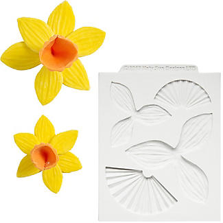 Katy Sue Designs Daffodil Flexible Silicone Mould