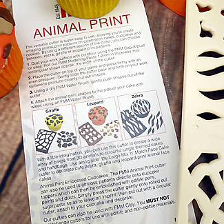 FMM Animal Print Icing Cutter  alt image 3