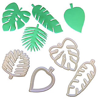 FMM Totally Tropical Leaves Icing Cutters – Pack of 4