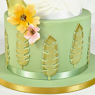 FMM Totally Tropical Leaves Icing Cutters – Pack of 4 alt image 2