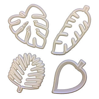 FMM Totally Tropical Leaves Icing Cutters – Pack of 4 alt image 3