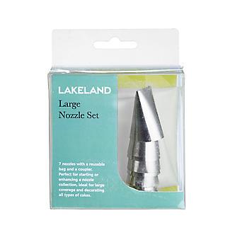 Lakeland 7pc Large Piping Nozzles & Bag Set alt image 3
