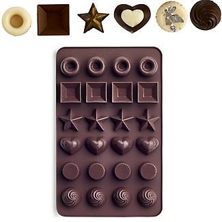 Lakeland 24 Chocolate Box Shapes Mould