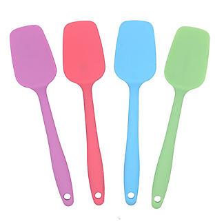 My Kitchen Silicone-Coated Mini Spoon Spatula – Colours Vary