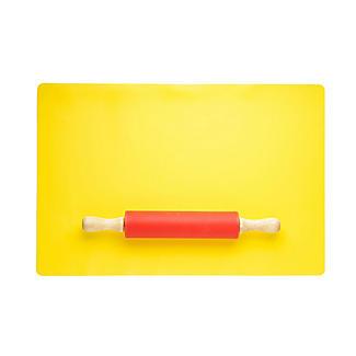 Lakeland Kids' Silicone Rolling Pin & Mat Set alt image 4