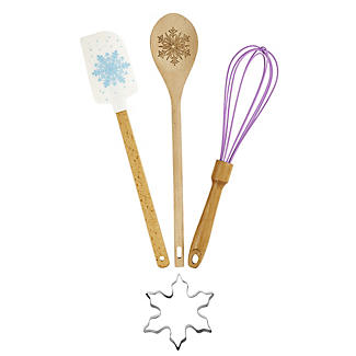 Lakeland 4pc Snowflake Baking Tools Gift Set
