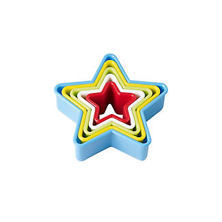 5 Star Shaped Cookie Cutters Set alt image 3