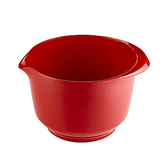 Deep Mixing Bowl Red 3L
