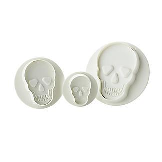 PME 3pc Halloween Skull Plunger Cutters set alt image 2