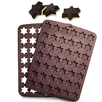 2-Piece Silicone Star Chocolate Mould