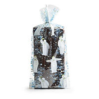 20 The Snowman Playful Snowman Cello Bags with Twist Ties