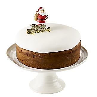 2pc Luxury Boxed Traditional Santa Cake Topper Set alt image 2