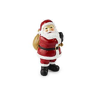 2pc Luxury Boxed Traditional Santa Cake Topper Set alt image 3
