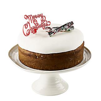 3pc Christmas Cracker Cake Topper Set alt image 2