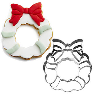 Christmas Wreath Stainless Steel Cookie Cutter
