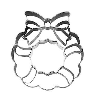 Christmas Wreath Stainless Steel Cookie Cutter alt image 3