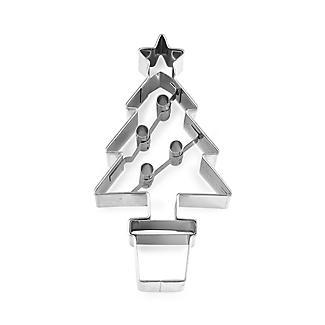 Christmas Tree Stainless Steel Cookie Cutter alt image 3