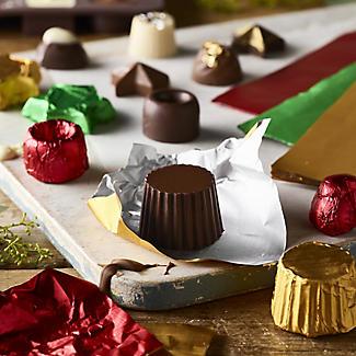 150 Foil Confectionery Wrappers 15cm Sq. alt image 2