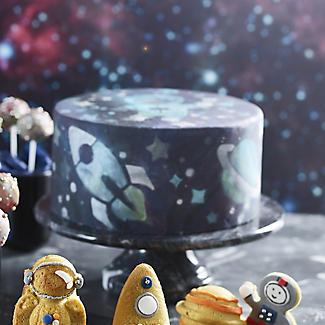 Space Cake Stencil 25cm Dia. alt image 2