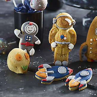 Space Cookie Cutter Set – Astronaut and Rocket alt image 2