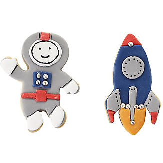 Space Cookie Cutter Set – Astronaut and Rocket alt image 5