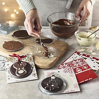 Handmade Chocolate Christmas Card Kit  alt image 2