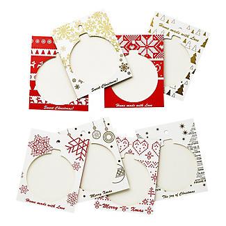 Handmade Chocolate Christmas Card Kit  alt image 6