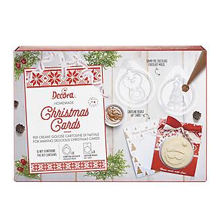 Handmade Chocolate Christmas Card Kit  alt image 7
