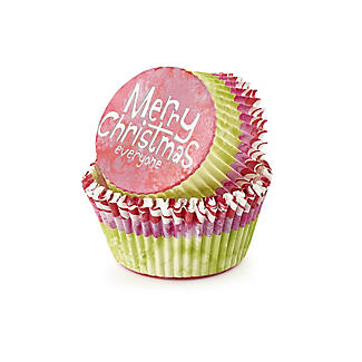 Christmas Bauble Spatula and Cupcake Cases Gift Set alt image 3