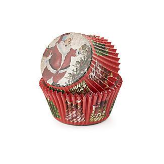 Santa Spatula and Cupcake Cases Gift Set alt image 3
