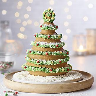 Decora 3D Christmas Tree Cake Tin alt image 2