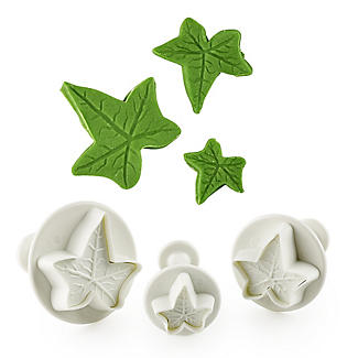 3pc PME Ivy Leaf Plunger Cutters