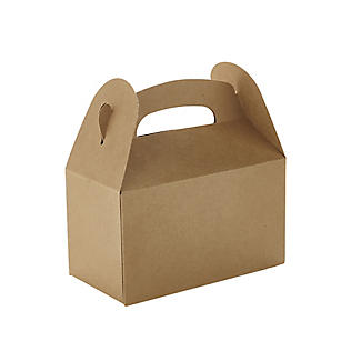 6 Craft Paper Treat Boxes alt image 3