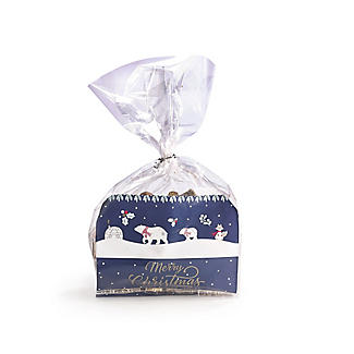 20 Polar Bear Cellophane Presentation Bags alt image 3
