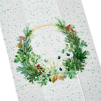 20 Wreath Cellophane Presentation Bags alt image 3