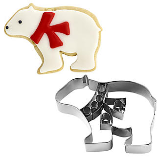 Polar Bear Stainless Steel Cookie Cutter