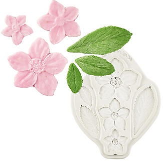 Katy Sue Designs Christmas Rose Silicone Mould