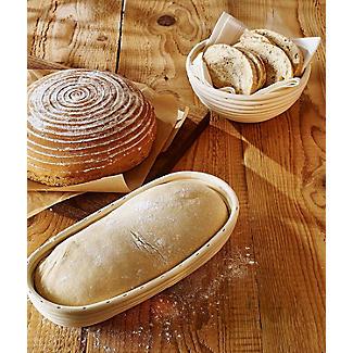Round Bread Dough Proving Basket 20cm alt image 2