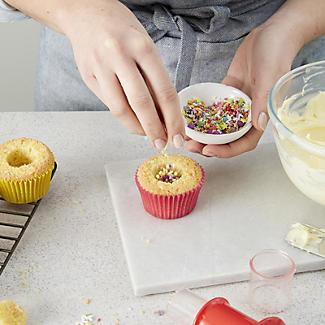 Lakeland 12 Hole Mini Sandwich Tin and Cupcake Corer Set alt image 7
