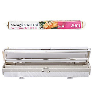 Wrapmaster Foil Dispenser and Lakeland Strong Foil Refill 30cm x 20m