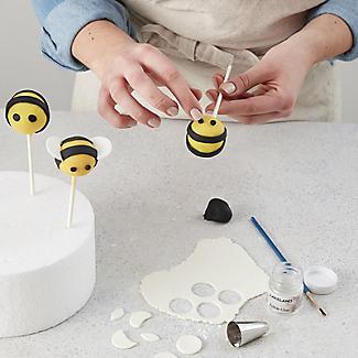 20 Hole Silicone Cake Pop Mould with Wilton Cake Pop Sticks Set alt image 3
