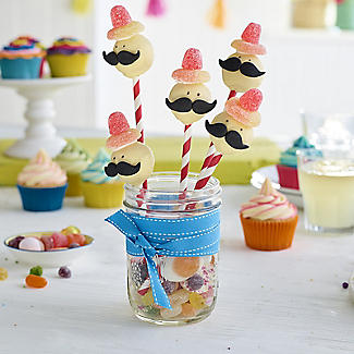 20 Hole Silicone Cake Pop Mould with Wilton Cake Pop Sticks Set alt image 7