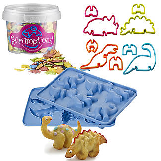 Dinosaur Baking Kit