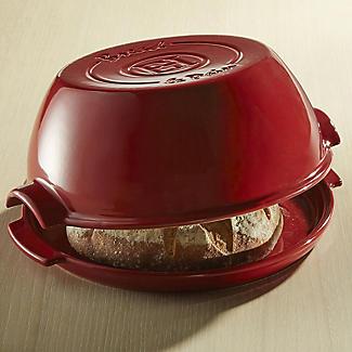 Emile Henry Round Bread Baker EH345507 – Red  alt image 2