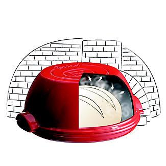 Emile Henry Round Bread Baker EH345507 – Red  alt image 3